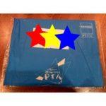 青い封筒。
