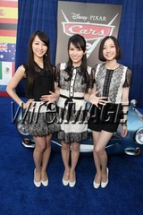 Perfume@Cars 2 World Premiere!!!