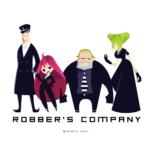 ぽんちゃん声優主演アニメ『ROBBER'S COMPANY』
